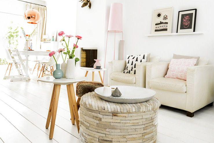 Selektion weißer Möbel