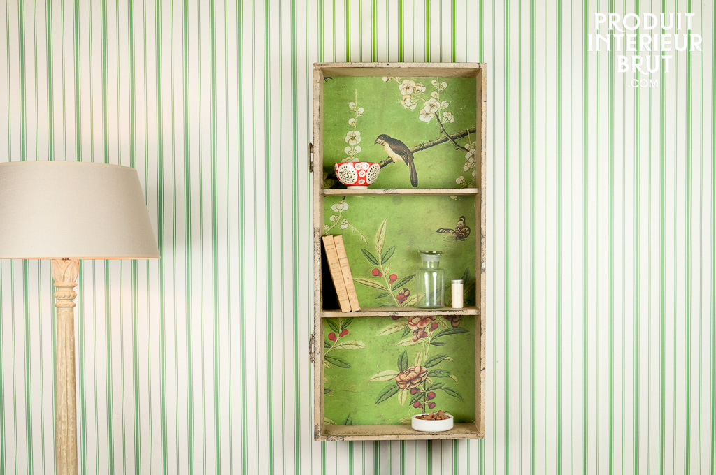 Etagere murale boheme for Etagere campagne chic