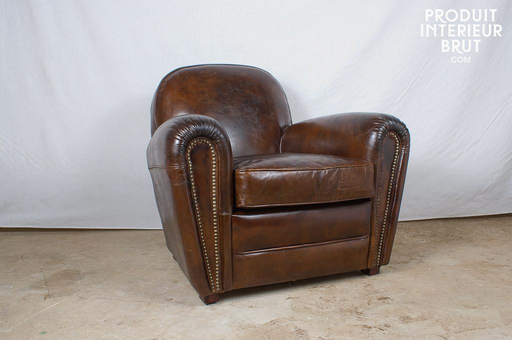 fauteuil club vieux cuir Produit Intérieur Brut