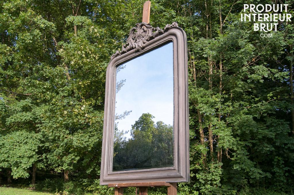 Grand miroir senlis - Miroir a fixer au mur ...