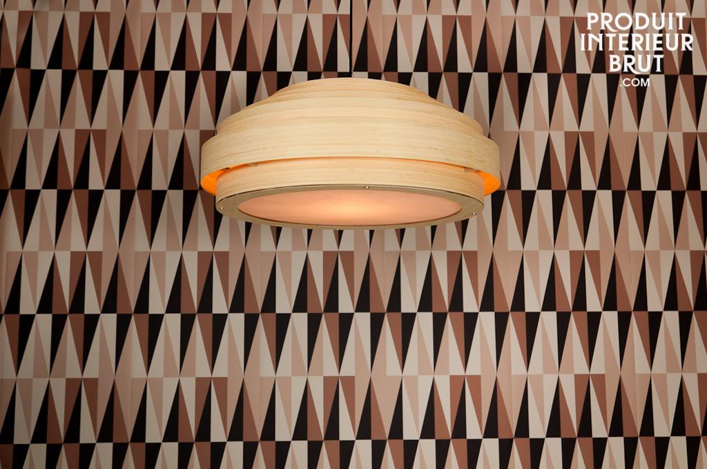 Deckenleuchte Wohnzimmer Gros : Bamboo Ceiling Light