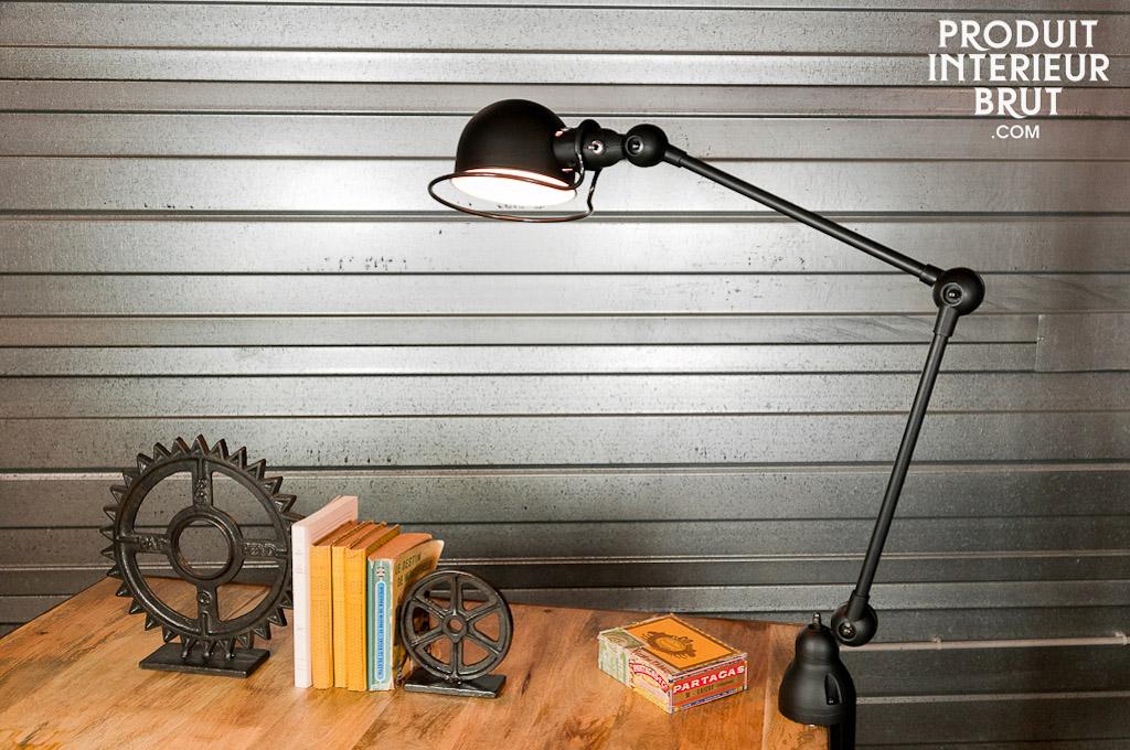 lampe bureau noire comparer les prix avec le guide shopping kibodio. Black Bedroom Furniture Sets. Home Design Ideas