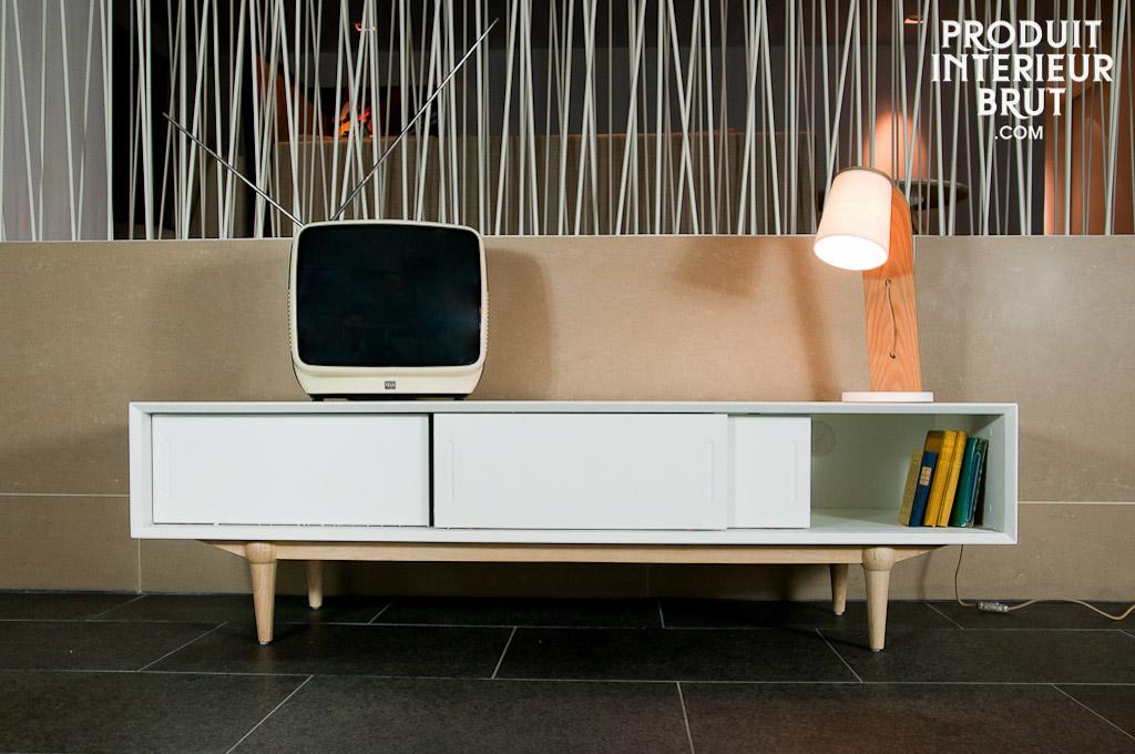 meuble tv scandinave design ? artzein.com - Meuble Tv Scandinave Design