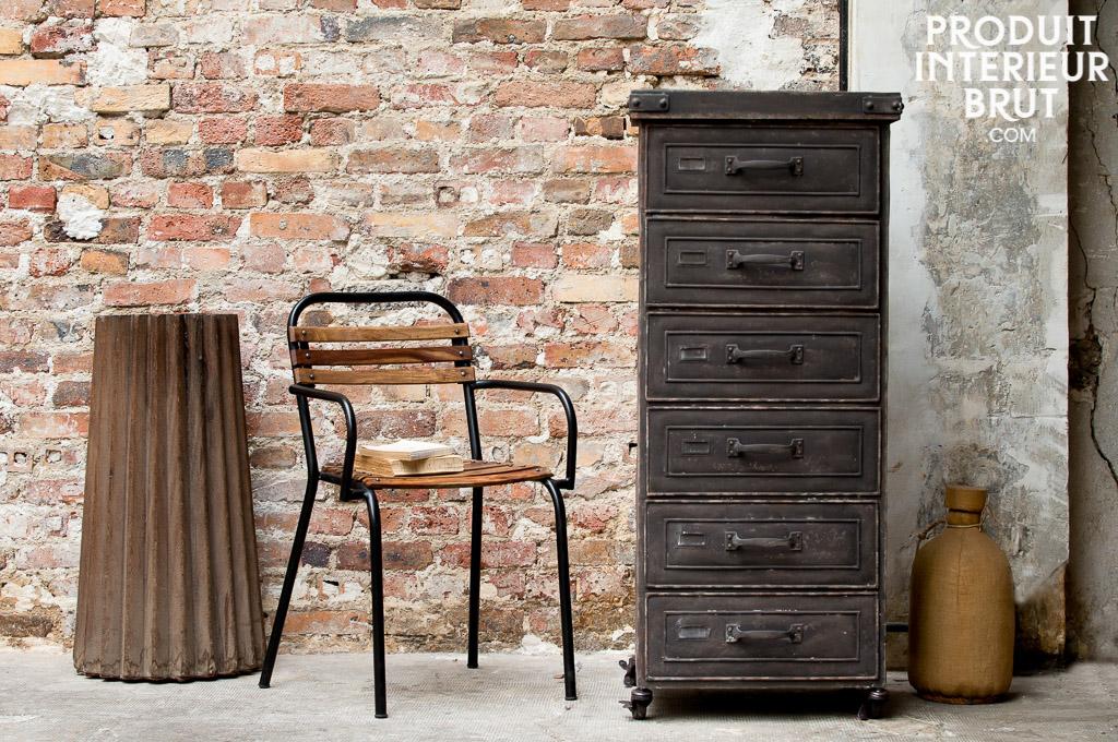 Semainier brown factory le cachet d 39 un meuble en m tal for Semainier industriel