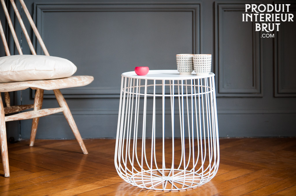 Table dappoint maitar - Table d appoint scandinave metal ...