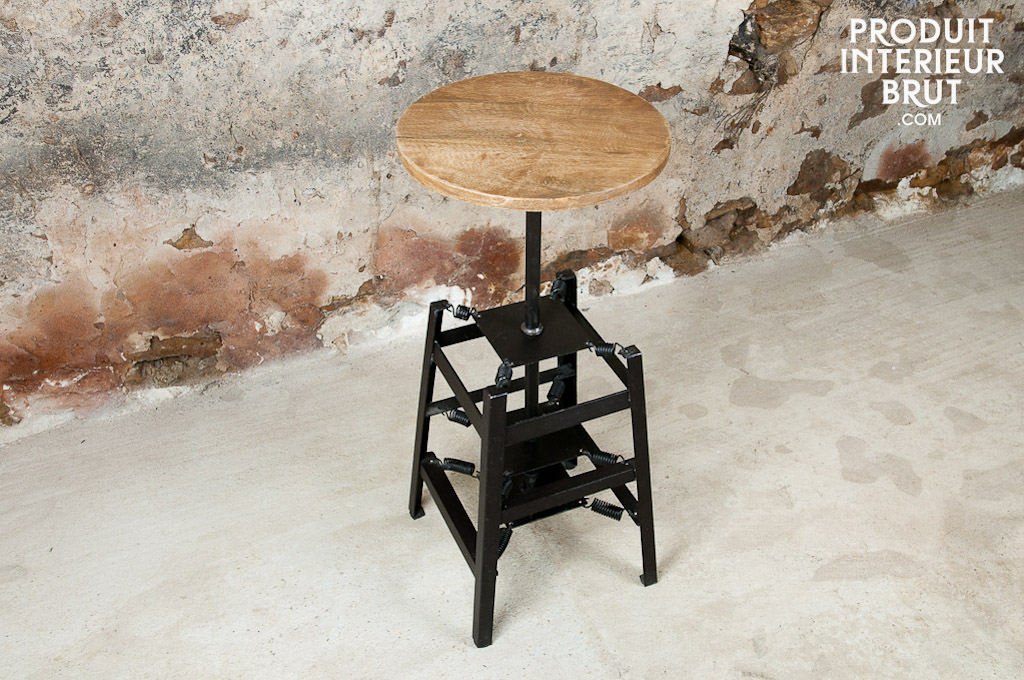 tabouret de bar ressorts un si ge de bar confortable et original. Black Bedroom Furniture Sets. Home Design Ideas