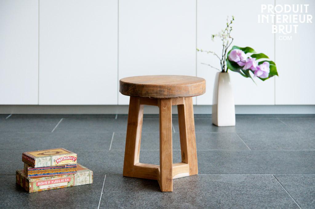 Offrez-vous un tabouret en bois style scandinave