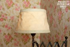 Chehoma : Abat-jour Victoria beige 25cm