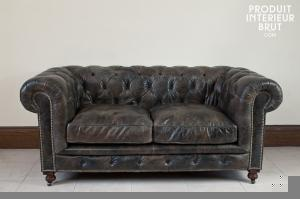 Chehoma : Canapé chesterfield Saint James