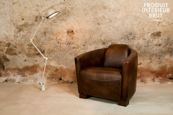 fauteuil cuir, fauteuils cuir, design cuir, fauteuil club