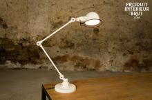 Jieldé : Lampe de bureau Jieldé Signal Ivoire