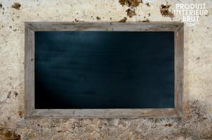 Athezza : Tableau noir de brasserie 115x190cm
