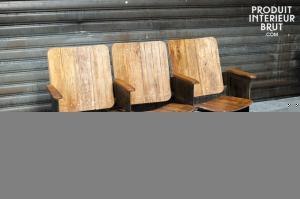 Triple siège de théâtre