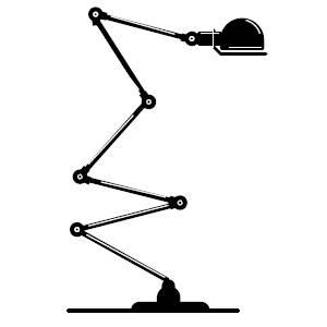Lampe Jielde à poser D7460
