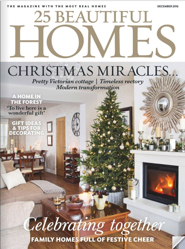 25 Beautiful Homes Décembre 2016