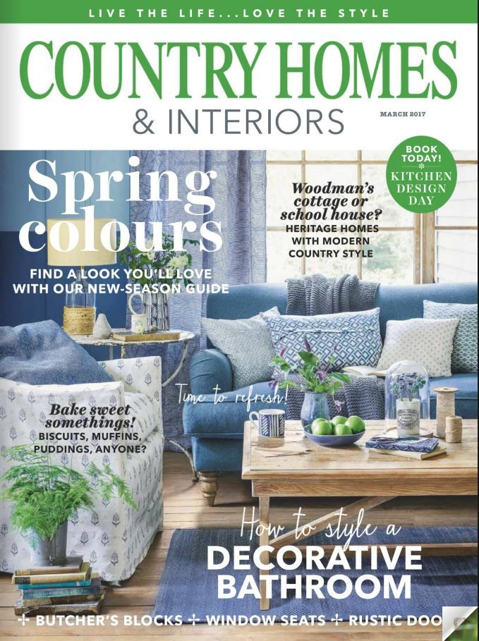 Country Homes And Interiors Mars 2017