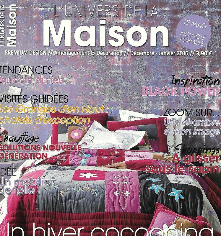 L'Univers De La Maison  January 2016