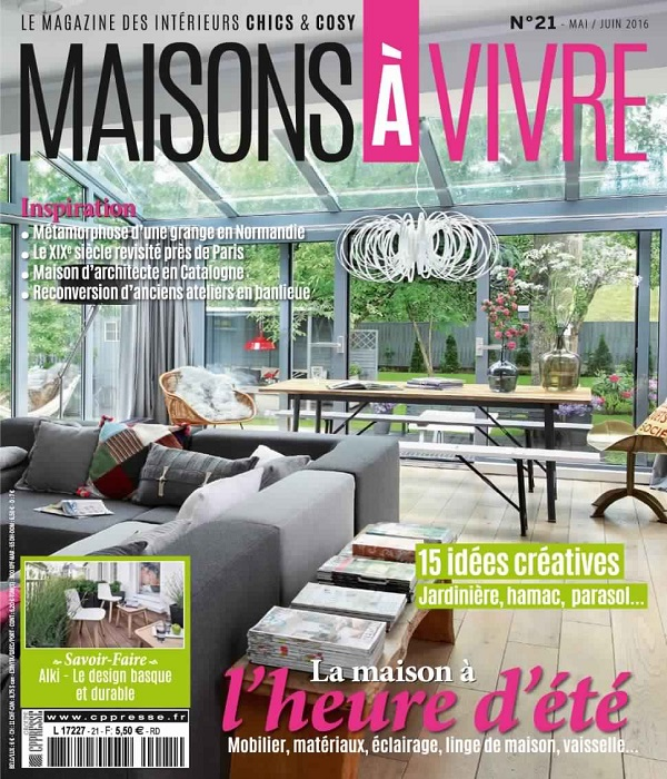 Maison à Vivre May-June 2016