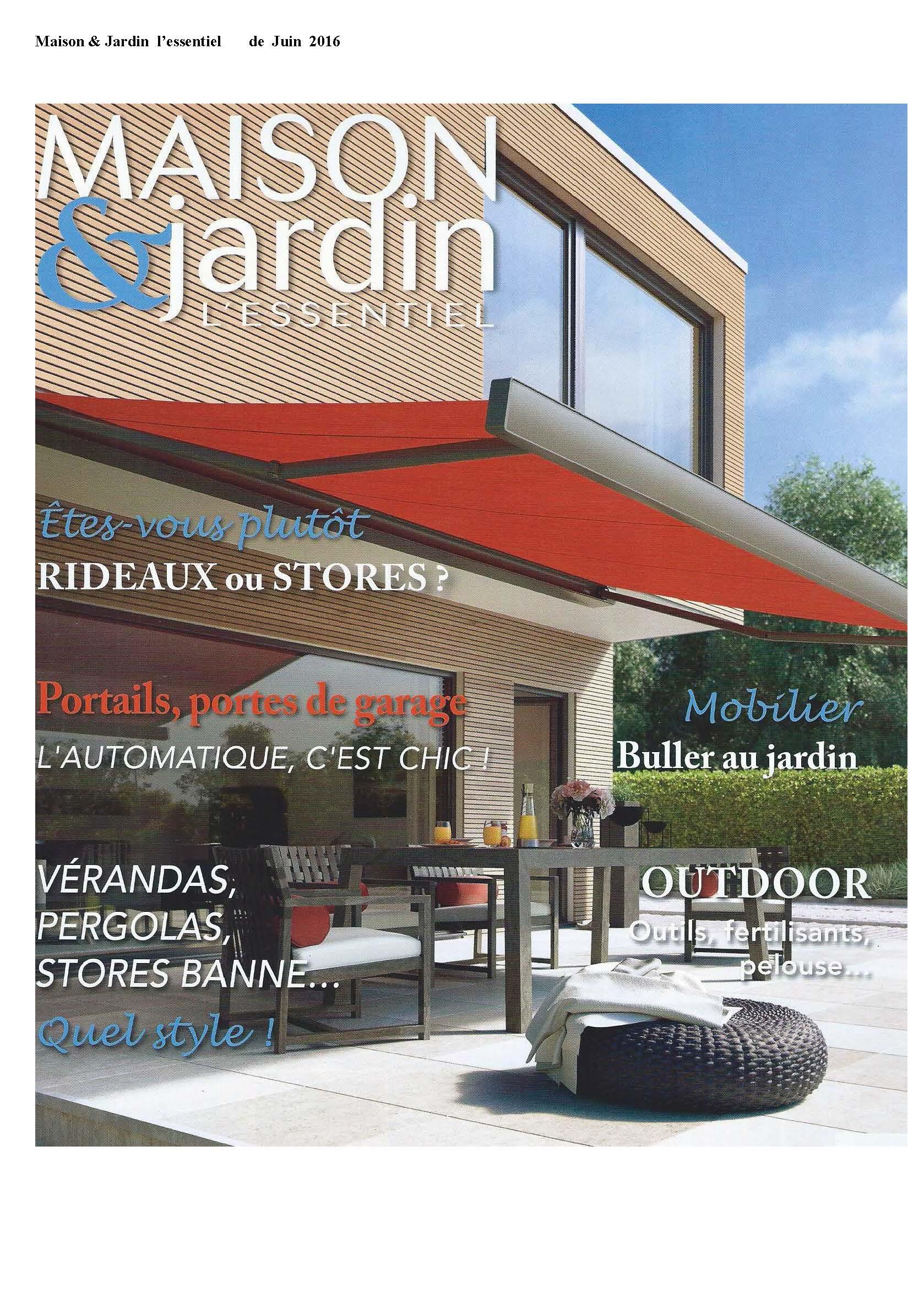 Maison & Jardin Juin 2016