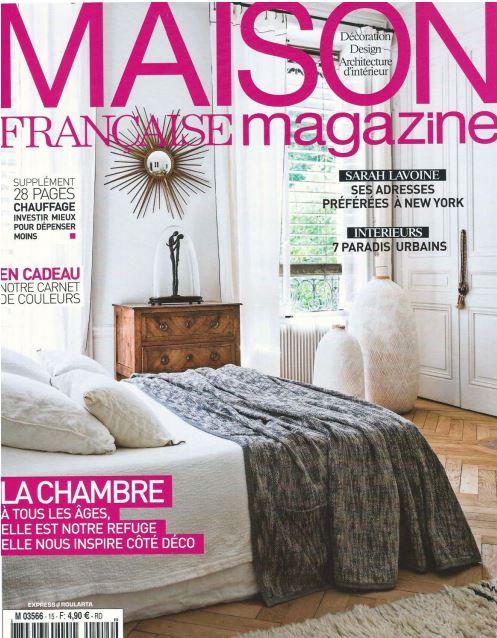 Maison française magazine septembre 2015