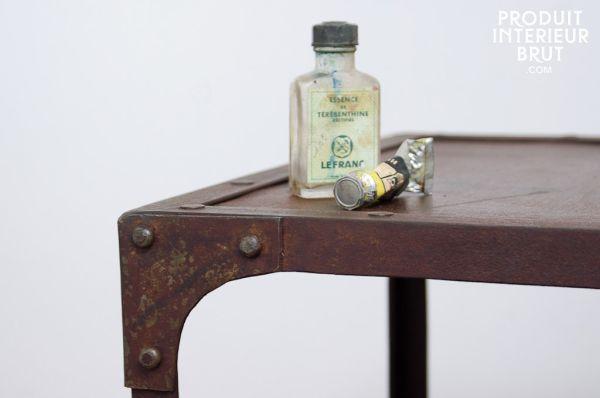 Meuble brocante la d co adapt e au meuble brocante - Brocante meuble industriel ...
