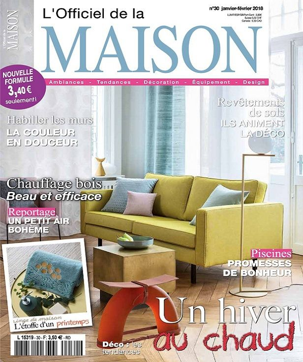 L'Officiel de la Maison Jan 2018