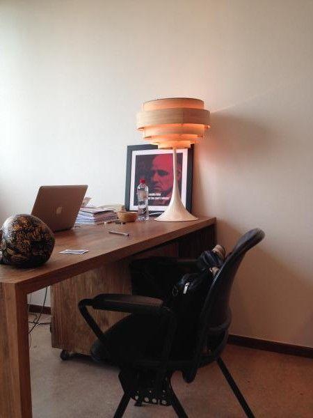 La lampe Bor�ale, un style fou, une lumi�re chaude. Nous sommes devenus de vrais PIBeur et PIBeuse !