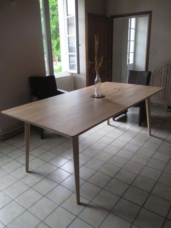 Table Möka hêtre 160cm