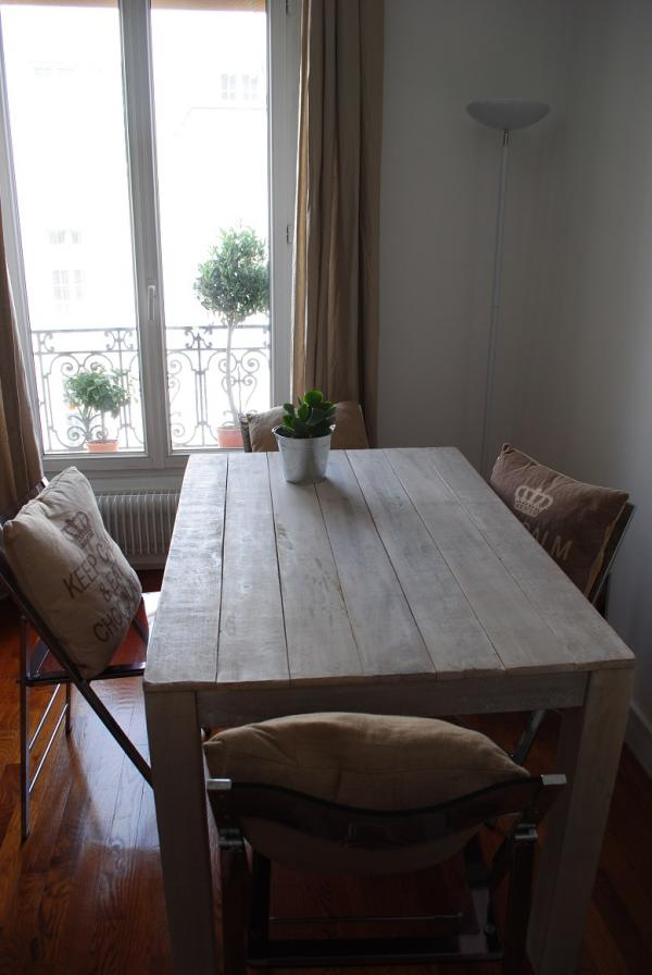 Table en bois Epicure