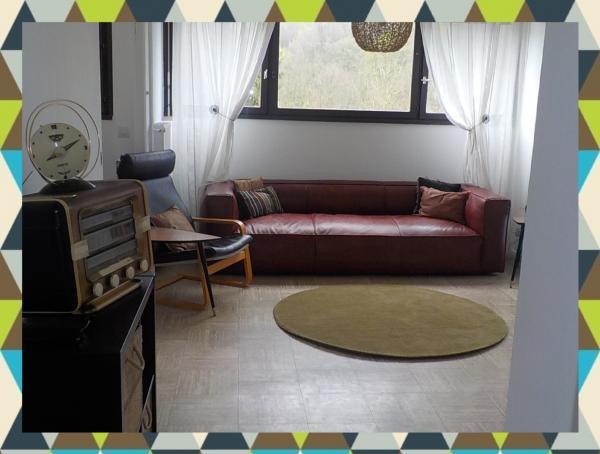photos meuble industriel et meuble scandinave en situation On salon du canapÃ