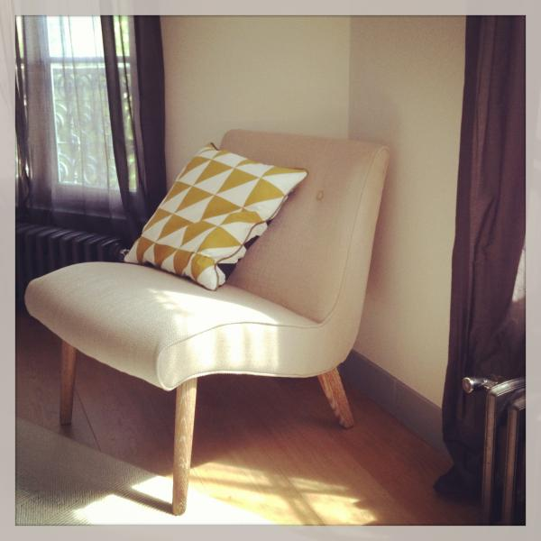 We LOVE notre fauteuil Northern Vintage (avec son cousin Norway Curry of course!).