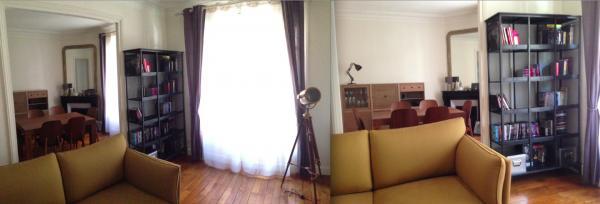 Nous sommes enchant�s par notre �tag�re tri postal. elle se fond compl�tement dans le style de notre appartement vintage...