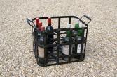 Panier métallique 12 bouteilles