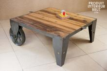 TABLE BASSE RAILWAY