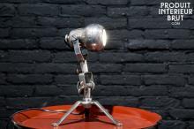 LAMPE EN LAITON SPOUTNIK
