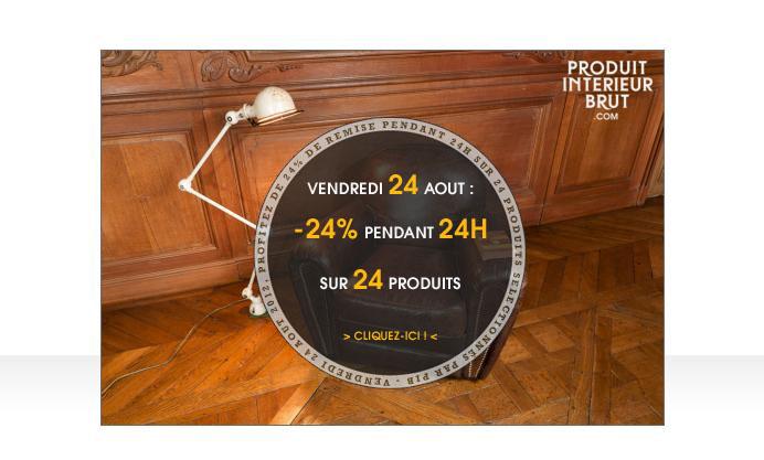 Vendredi 24 : -24% sur 24 produits pendant 24 heures