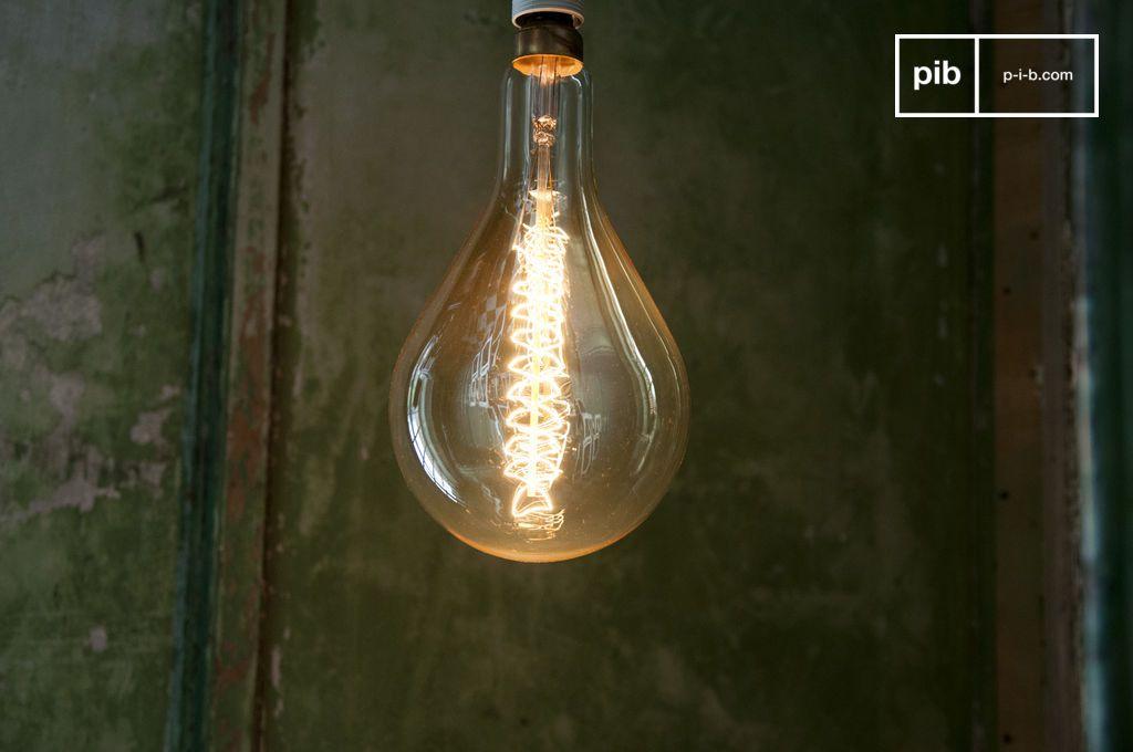 ampoule lectrique d co g ante filament long culot e27 pib. Black Bedroom Furniture Sets. Home Design Ideas