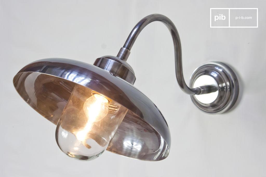 Achat vente applique d extérieur rétro bell aluminium kaki