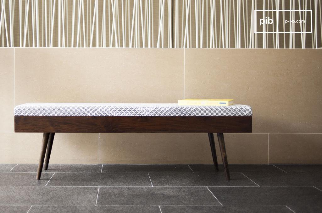 banc londress une assise deux places esprit scandinave pib. Black Bedroom Furniture Sets. Home Design Ideas