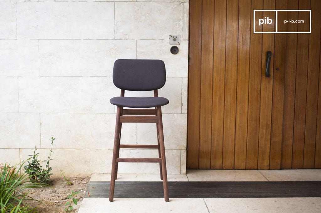 Chaise de bar rainss n chaise haute confortable pib for Chaise et table de bar