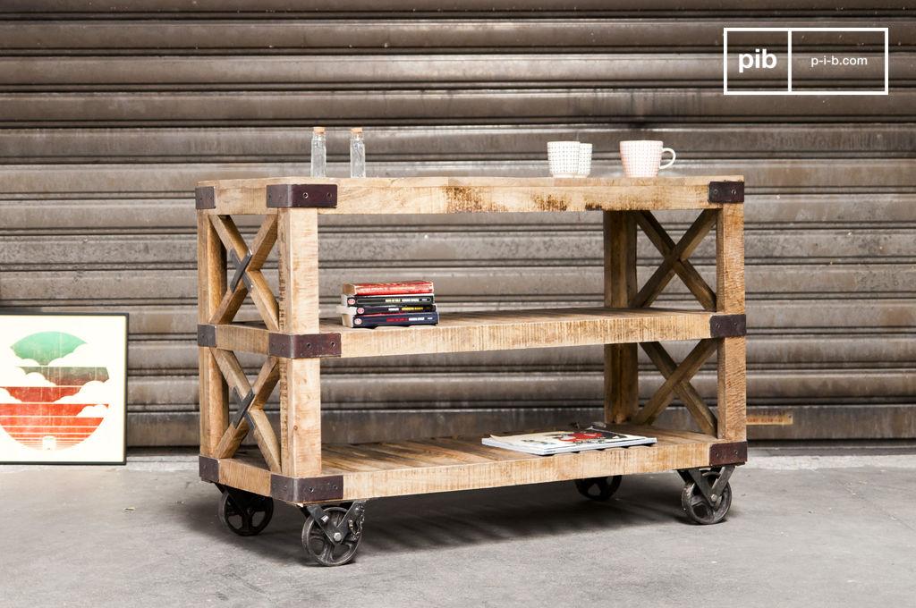 desserte en bois paddington le cachet et la robustesse du pib. Black Bedroom Furniture Sets. Home Design Ideas