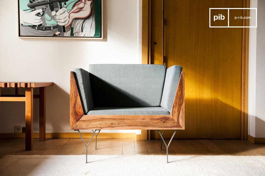 fauteuil mabillon un fauteuil compact et l gant pib. Black Bedroom Furniture Sets. Home Design Ideas