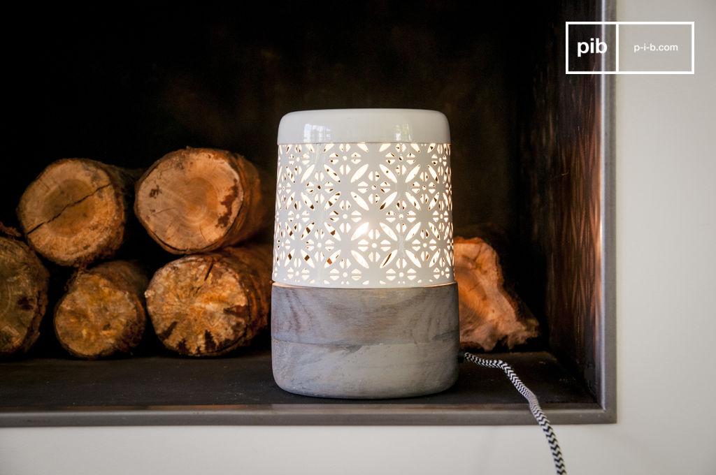 lampe poser l nie un joli luminaire pour une pib. Black Bedroom Furniture Sets. Home Design Ideas