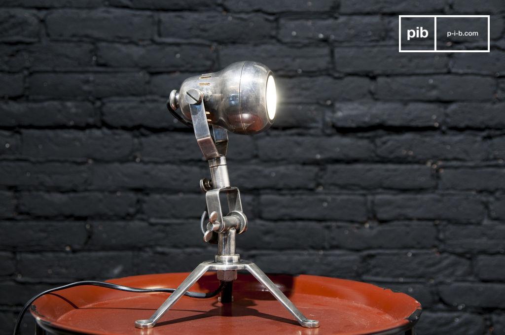 lampe en laiton spoutnik ligne indus 39 originale pib. Black Bedroom Furniture Sets. Home Design Ideas