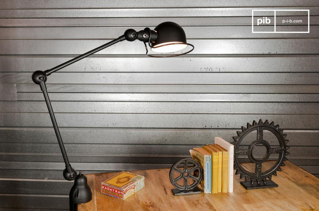 lampe jield loft tau noir mat pib. Black Bedroom Furniture Sets. Home Design Ideas