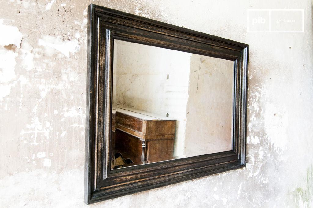 miroir sigara le charme r tro d 39 un miroir ancien pib. Black Bedroom Furniture Sets. Home Design Ideas