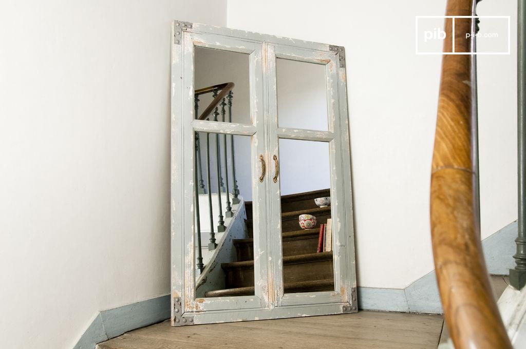 Miroir sweet window une fen tre en plus et du cachet pib for Retourner une photo miroir