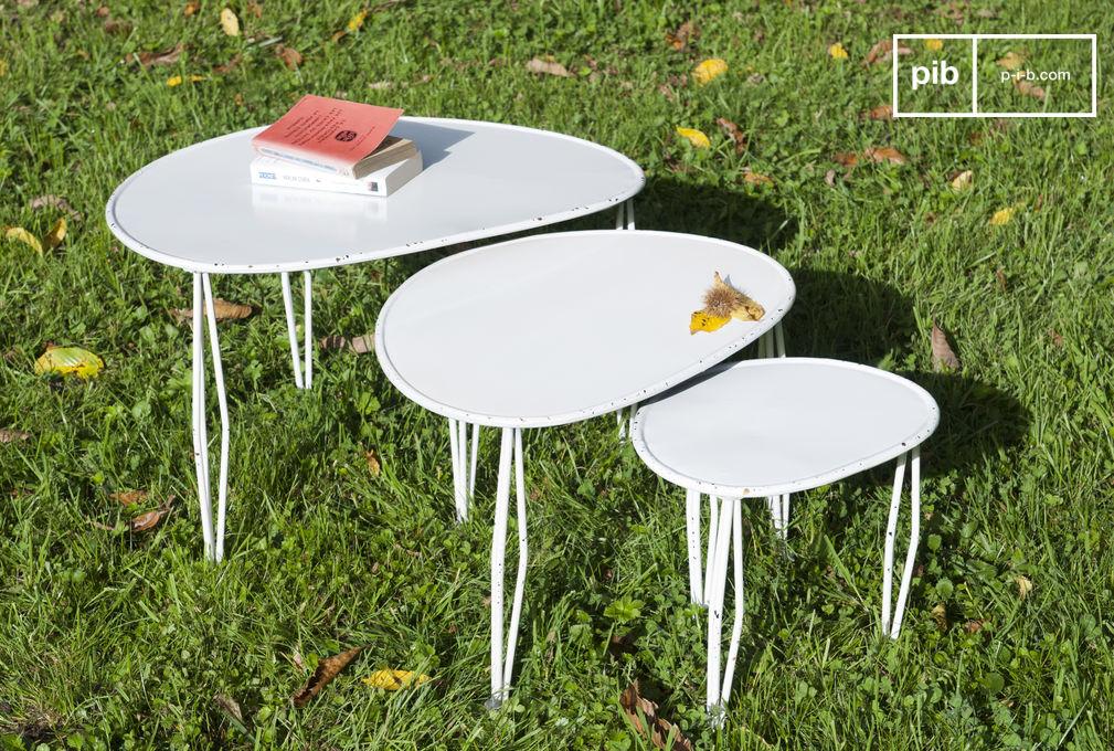 table basse gigogne tripoli trois tables pratiques et pib. Black Bedroom Furniture Sets. Home Design Ideas