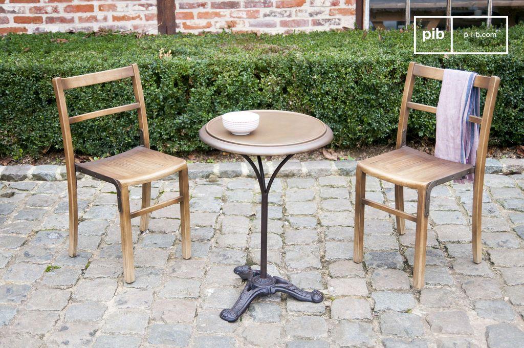 table bistrot vaiana lignes classique et originale pib. Black Bedroom Furniture Sets. Home Design Ideas