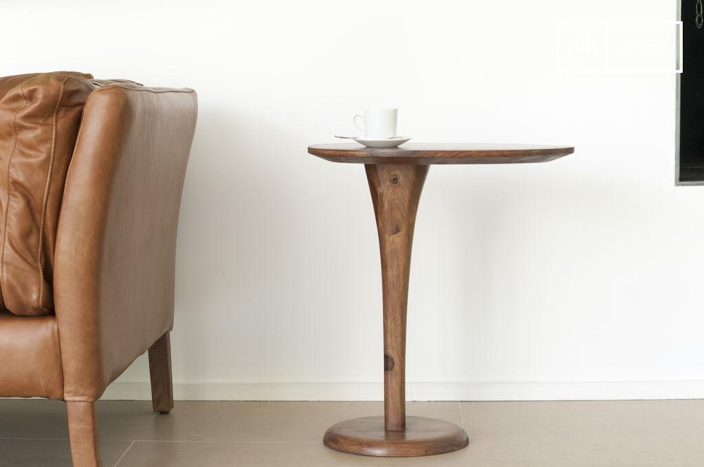 table d 39 appoint monopied piwy assur ment originale pib. Black Bedroom Furniture Sets. Home Design Ideas